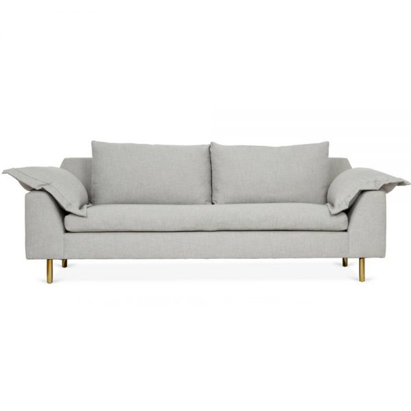Clark Sofa, Heather Stone Crypton · Sofas